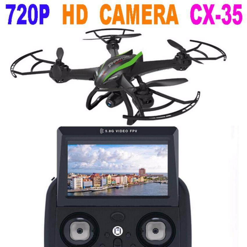 Astro Cheerson Astro Cheerson CX-35 Drone High Hover Mode 5.8G Camera Video 720P Transmission - สีเขียว