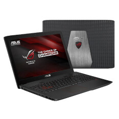 ASUS Notebook GL552VW-DM832D i7-6700HQ 2.6GH 8GB/SSD512G V4G DOS (BLACK)