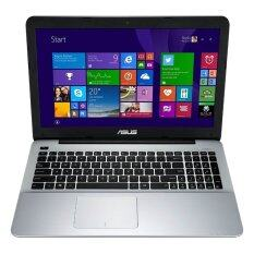 "ASUS Notebook X555LD-XX918H 15.6""/i5-5200U/6GB/1TB/GT820 2GB/Win 8.1 - Black"