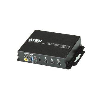 ATEN VGA to HDMI Converter with Scaler รุ่น VC182 (Black)