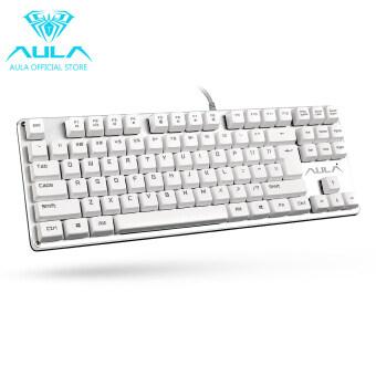 AULA เป็นทางการ F2012 ผ่านแป้นพิมพ์แป้นพิมพ์แบบเกมกล (ขาว)