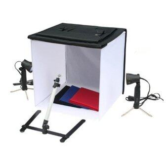 B2H Portable 40 cm. Light Camera Photo Studio KIT Tent Box