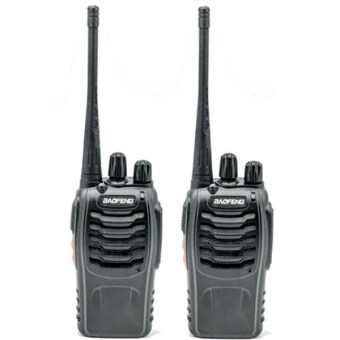 วิทยุสื่อสาร BAOFENG BF-888S UHF 16 Channel FM Walkie Talkie Two-Way Radio (2ชิ้น)