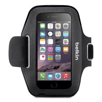 Belkin ซองใส่มือถือรัดแขน Belkin Sport-Fit Plus Armband for iPhone 6 / 6S (Blacktop/Overcast)