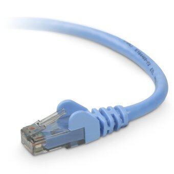 Belkin สายแลน Cat6 RJ-45 Networking Cable ความยาว 5 เมตร (Blue)