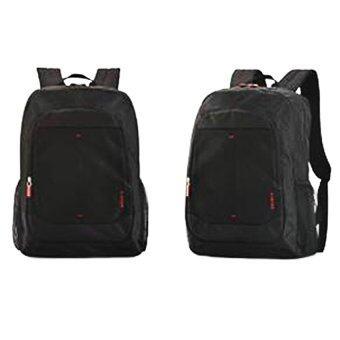 กระเป๋าใส่โน๊ตบุ๊ค Belkin McCoy Backpack 16นิ้ว สีดำริ้วแดง
