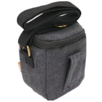 Black Camera Bag Case for Sony A5000 a6000 A7R NEX-5N NEX-5T NEX-5RL NEX-6 NEX-7