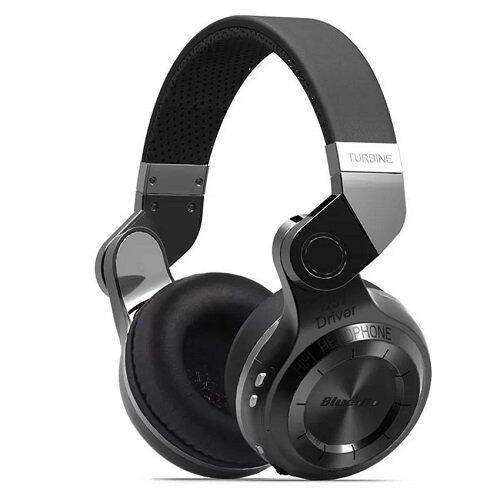 Bluedio หูฟัง Bluetooth 4.1 HiFi Stereo Headphone รุ่น T2 (Black)