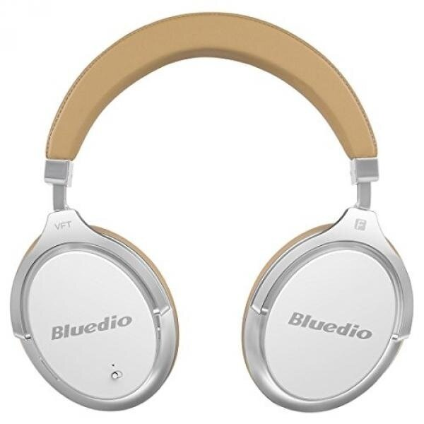 Bluedio F2 (Faith) Active Noise Cancelling Over-ear Business Wireless Bluetooth Headphones with Mic (White) - intl