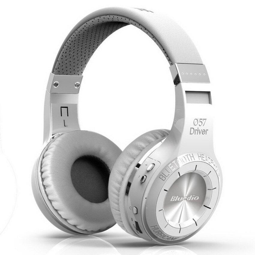 Bluedio หูฟังบลูทูธ รุ่น HT (สีขาว)