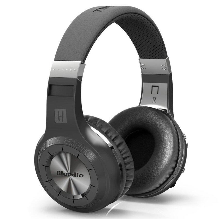 BLUEDIO HT Turbine 57mm Driver Bluetooth 4.1 Over-ear Headphone with Mic Line In/Out (White)