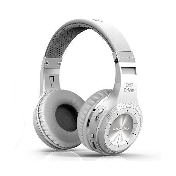 Bluedio HT Wireless Bluetooth 4.1 Stereo Headphones (White) - Intl