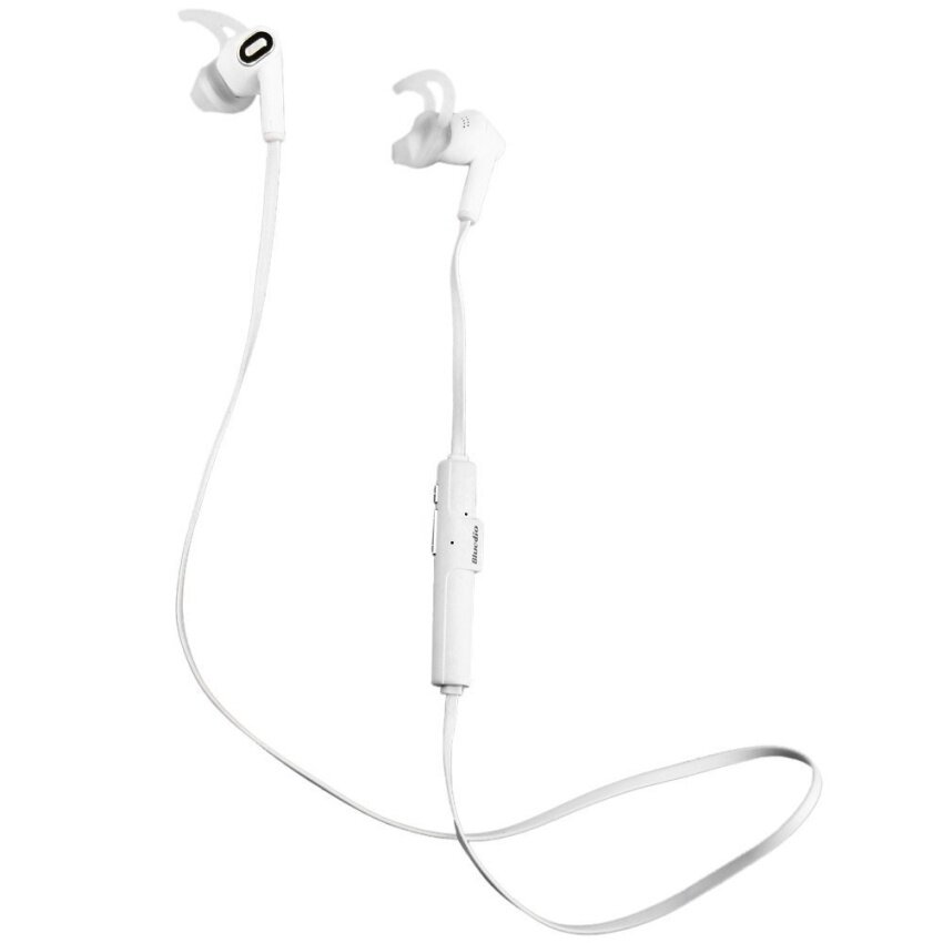 Bluedio M2 In-ear Bluetooth 4.1 Wireless Headset Stereo Sport Earphone with Mic for Mobile Phone Calls (White) - intl