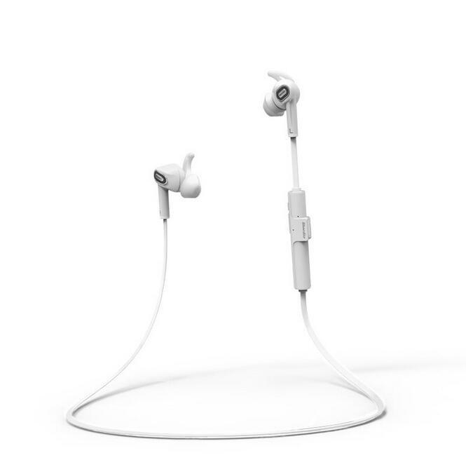 Bluedio M2 In-ear Wireless Bluetooth 4.1 Headset Stereo Earphone Sport Headphones Music and Calls(White)