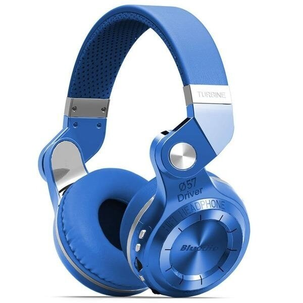 Bluedio T2+ Wireless Bluetooth 4.1 Stereo Headphone Headset Earphone Foldable / Stretchable Support TF Card / FM Function for Smartphones - intl