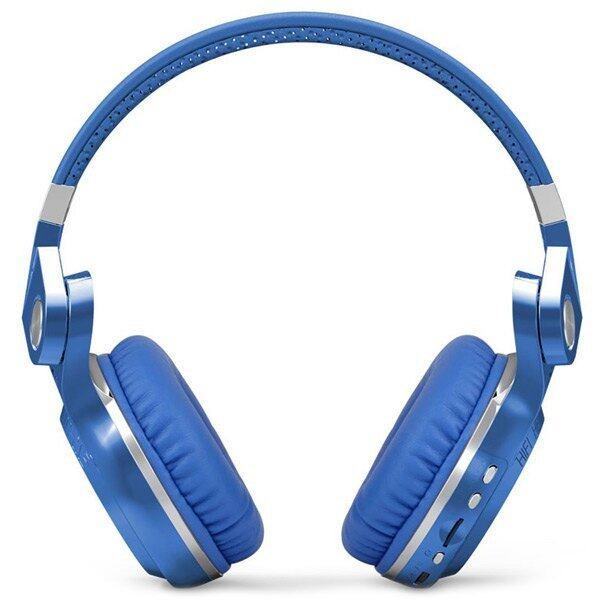 Bluedio T2+ Wireless Stereo Headphone Bluetooth 4.1 For Smartphones (Blue)