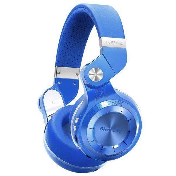 Bluedio T2 Wireless Stereo Headphone for Smartphones (Blue) - Intl