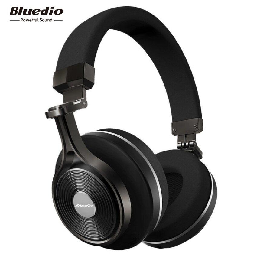 ขาย Bluedio T3 (Turbine 3rd) Extra Bass Wireless Bluetooth 4.1 Stereo Headphones (White)