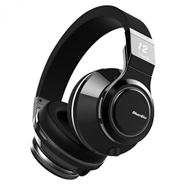 Bluedio V (Victory) Pro Patented PPS12 Drivers Wireless Bluetooth headphones (Black) - intl