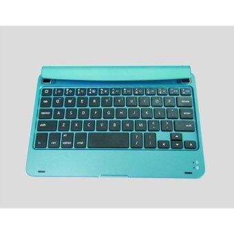 Bluetooth Keyboard for ipadmini aluminum alloy material ( Light Blue)