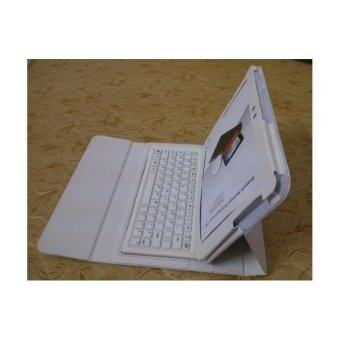 Bluetooth Keyboard for Sansung N8000/P7500/P7510/P5100 universal keyboard with holster (White)