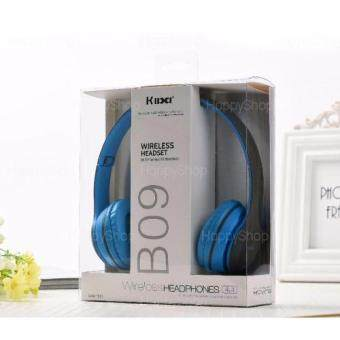 Bluetooth Spaeker Kiba B09 หุฟังไร้สายบลูทูธแบบครอบหู 4in1 รองรับ Bluetooth/Handfree/MicroSD/FM