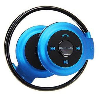 หูฟัง ไร้สาย Bluetooth Stereo Headset mini รุ่น 503 ( สีน้ำเงิน )