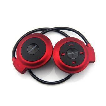 Bluetooth Stereo Headset หูฟัง บลูทูธ ไร้สาย Model: Mini 503-TF(Red)