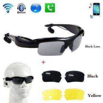 Bluetooth Sunglasses แว่นตากันแดด Smart Stereo Bluetooth ชุดหูฟัง 4.1 Glasses Wireless Outdoor Bluetooth Headphones Headset