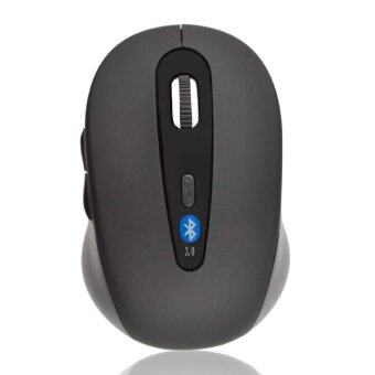 Bluetooth V3.0 Optical Wireless Mouse Mice DPI 1600 for PC Notebook (Black)