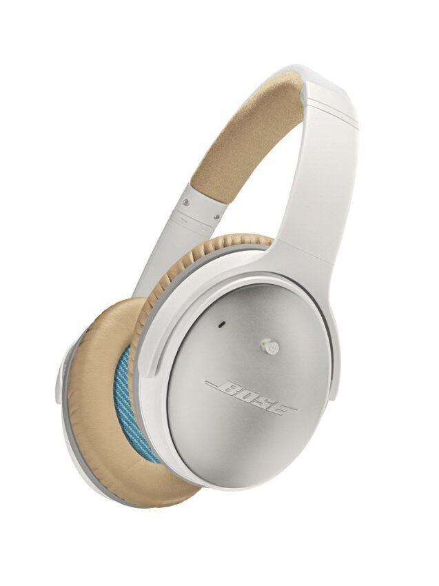 BOSE หูฟังตัดเสียงรบกวนแบบครอบหู สำหรับอุปกรณ์ Android รุ่น QuietComfort 25 - สี White