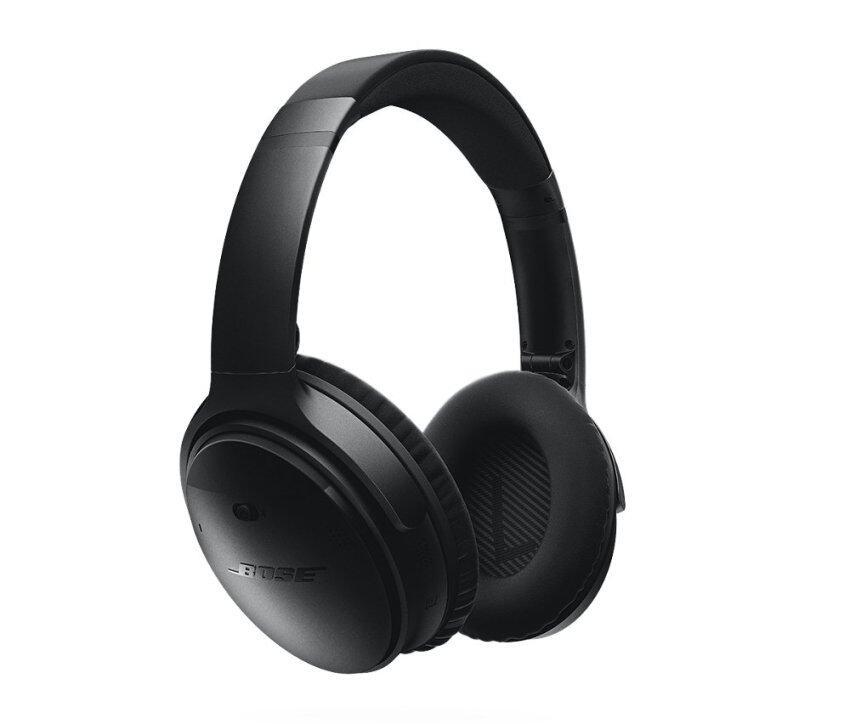 BOSE หูฟังตัดเสียงรบกวนไร้สายแบบครอบหู รุ่น QuietComfort 35 - สี Silver