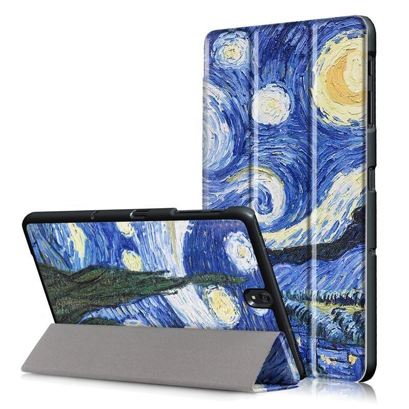 BYT Colorful Printing Tablet Leather 3 Folio Flip Cover Case for Samsung Galaxy Tab S3 9 ...