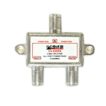 CABLE Satellite Splitter All Pass 2way รุ่น CA 032/FA