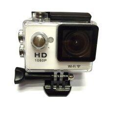 Camera กล้องกันน้ำ Action Camcorder Full Hd 1080p Wifi (สีขาว) ราคา 1,650 บาท(-13%)