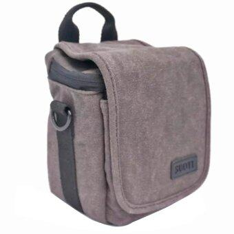 Camera Bag Case for Sony A5100 A5000 a6300 a6000 A7R NEX-5N NEX-5T NEX-5RL NEX-6 NEX-7 NEX-5C (Grey) - intl