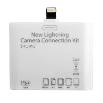 Camera Connection Kit USB 2.0 5 in 1 Camera Connection Kit MS/ M2/TF SD Card Reader - Intl