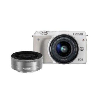 Canon EOS M3 Kit (EF-M 15-45mm STM  22mm ) White