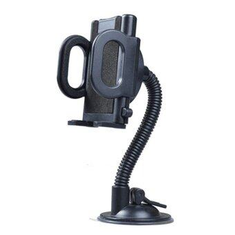 Car Mobile Phone Holder Bending Pipe General GPS Navigator Phone Car Holder - intl