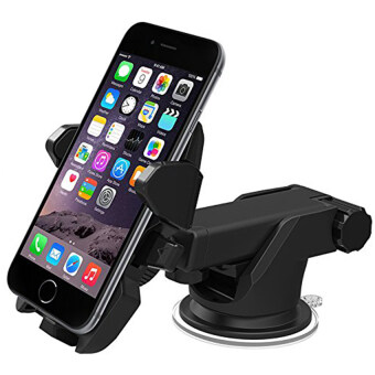 Car Mounts + Adjustable 360 Degree Car Holder for 3.5-6 Inch Cellphones