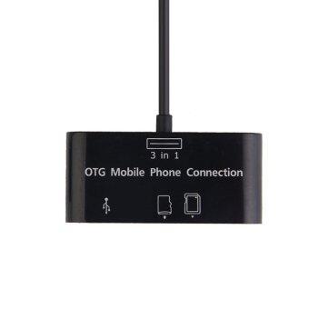 Card Reader HUB OTG Connection Kit for Samsung Galaxy Note2 N7100i9300 - Intl