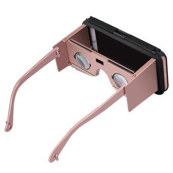 """CASE VC2 VR 4.7 """" Superme Mobile Phone Portable Shell Glasses For iPhone6/6s (Gold) - INTL"""