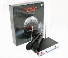 Ceflar ไมโครโฟนไร้สาย Wireless Microphone (Black) CM-002 image
