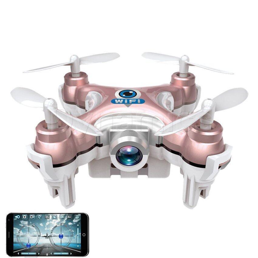 Cheerson Drone CX10W Camera FPV 720P Wi-Fi ขนาดจิ๋ว 6 cm - สีโอรส