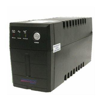 Chuphotic เครื่องสำรองไฟ 850VA / 320 Watt รุ่น MO850I V.2 - สีดำ