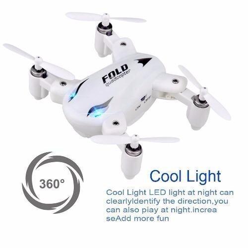 โดรน พับปีกได้ cx10wd จิ๋ว FOLD DRONE SY X31 MINI สีขาว