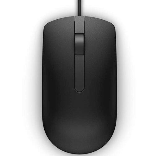 Dell MS116 USB Optical Mouse 1000dpi, 1.8m (Black)