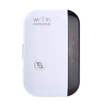 dmscs 300Mbps Wifi Repeater Wireless-N AP Wifi Range Signal Extender Booster (US Plug)