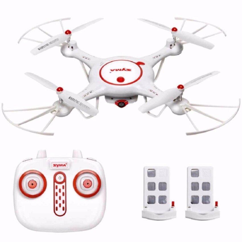 DRONE โดรนติดกล้อง SYMA X5UC 2.4G Remote Control FPV Quadcopter พิเศษ Batteries 2 ก้อนในกล่อง บินนิ่ง กล้องชัด
