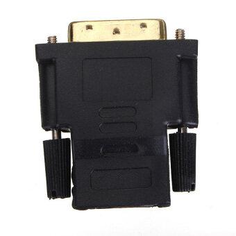 ชายแก่ DVI HDMI หญิง M-F อะแดปเตอร์ทองชุบตัวแปลงสำหรับ hdtv ได้